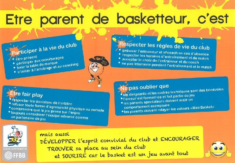 Etre parent de basketteur